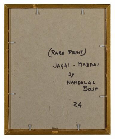 View 3. Thumbnail of Lot 1801. NANDALAL BOSE | JAGAI-MADHAI.