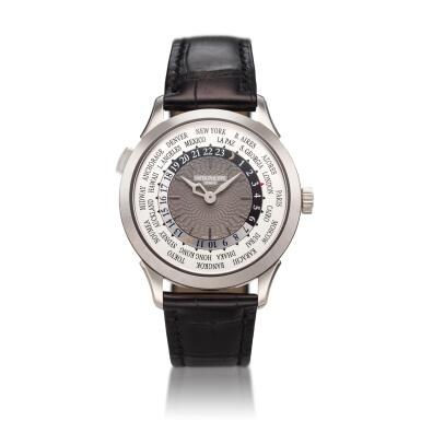 View 1. Thumbnail of Lot 286. Reference 5230G-001  A white gold automatic world time wristwatch, Circa 2017 .