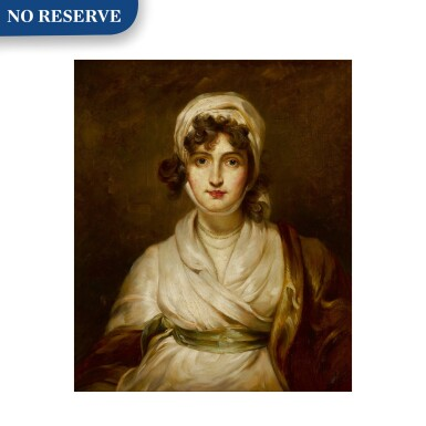 View 1. Thumbnail of Lot 114. Portrait of Sarah Siddons (1755 - 1831), bust-length.