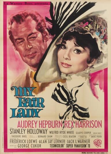 MY FAIR LADY (1964) POSTER, ITALIAN
