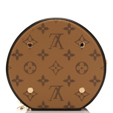 View 6. Thumbnail of Lot 87. Louis Vuitton Cannes Bag of Reverse Monogram Canvas with Golden Brass Hardware.