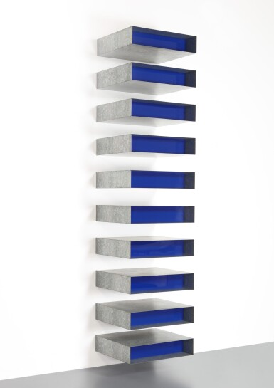 View 1. Thumbnail of Lot 26. DONALD JUDD | UNTITLED .
