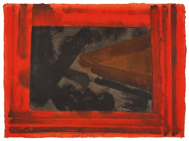 HOWARD HODGKIN | HERE WE ARE IN CROYDON (H. 49)