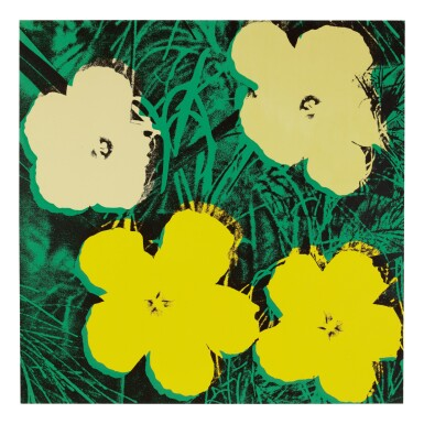 View 10. Thumbnail of Lot 63. ANDY WARHOL | FLOWERS (F. & S. II.64-73).