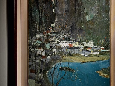 View 2. Thumbnail of Lot 1014.  WU GUANZHONG  吳冠中   SCENERY OF GUILIN 桂林景色.