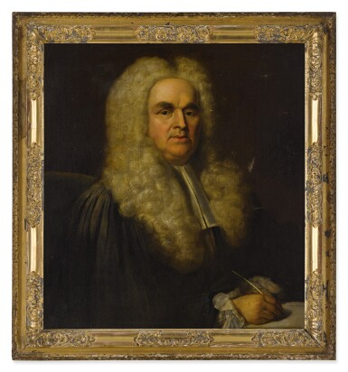 View 3. Thumbnail of Lot 109. Portrait of a lawyer, bust-length.