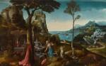 Saint Jerome in the wilderness | 《荒野上的聖杰羅姆》