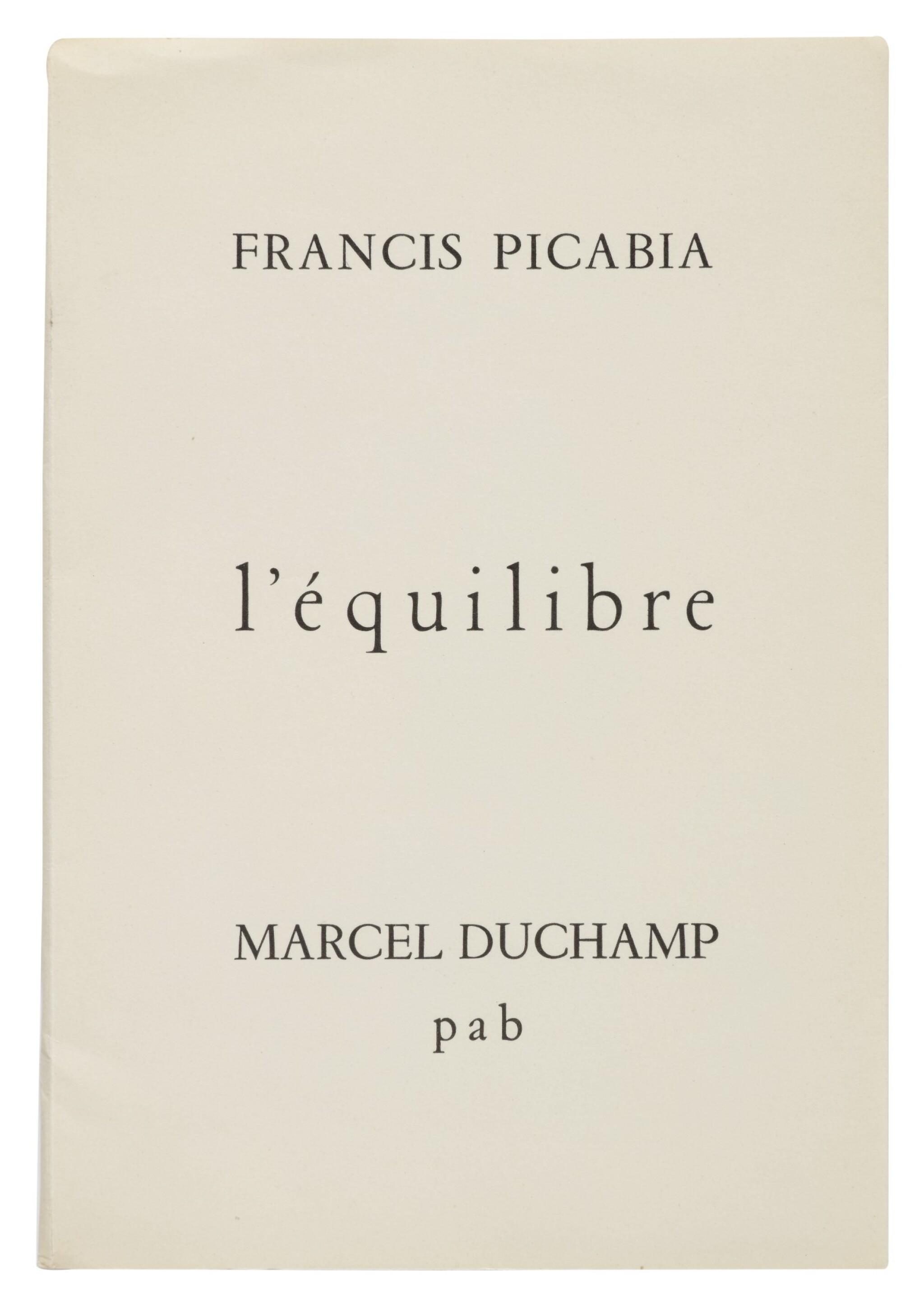View full screen - View 1 of Lot 12. L'ÉQUILIBRE. [ALÈS (GARD):] P. A. B., AUGUST 1958.