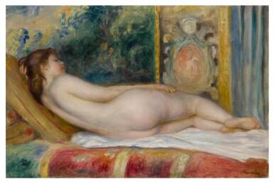 View 1. Thumbnail of Lot 1025. Femme nue couchée.