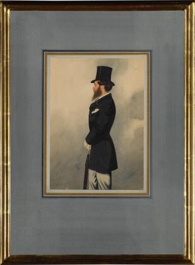 View 3. Thumbnail of Lot 162. Portrait of Captain Mildmay.