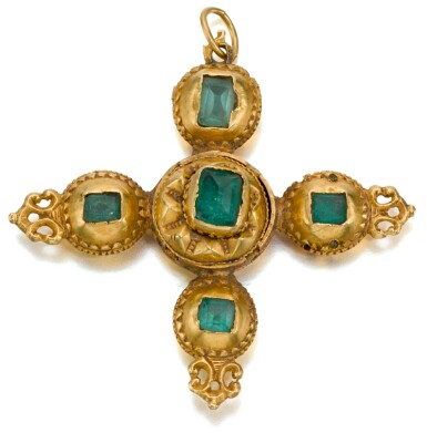 SPANISH OR SOUTH AMERICAN, EARLY 18TH CENTURY | PENDANT