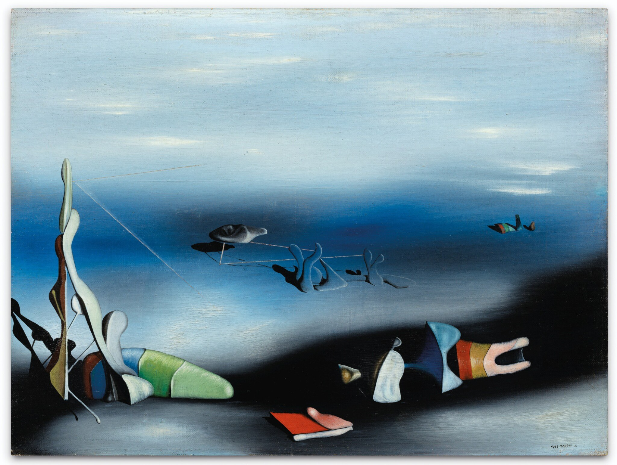 View full screen - View 1 of Lot 2. YVES TANGUY | FEU COULEUR NO. 2.