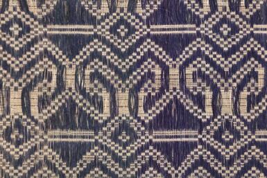 View 11. Thumbnail of Lot 6. Un textile cérémoniel pua et trois nattes, Indonésie | A ceremonial cloth pua and three mats, Indonesia.