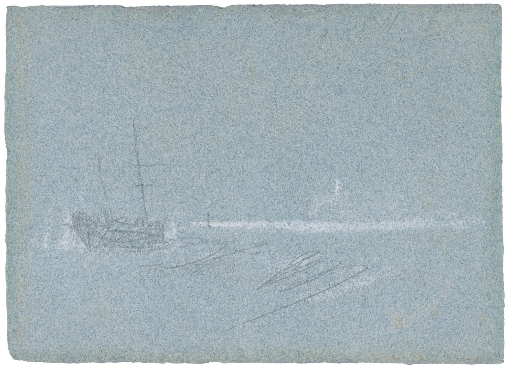 View full screen - View 1 of Lot 17. JOSEPH MALLORD WILLIAM TURNER, R.A.  |  OFF MARGATE, 1840.