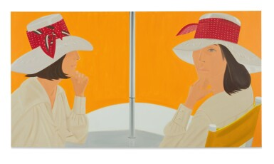 View 1. Thumbnail of Lot 28. ALEX KATZ | THE RED BAND.