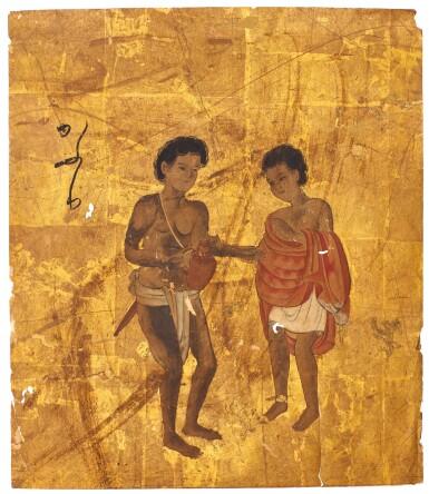 ANONYMOUS VARIOUS FOREIGNERS (BANKOKU JINBUTSU ZU), MOMOYAMA-EDO PERIOD, 17TH CENTURY