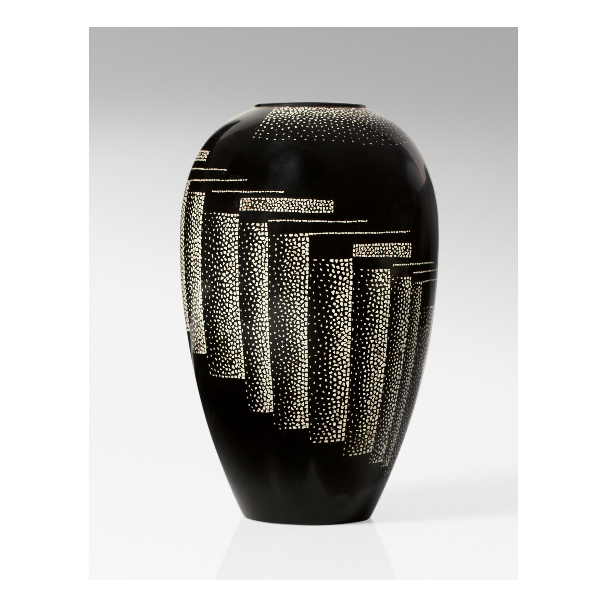 View full screen - View 1 of Lot 22. JEAN DUNAND   VASE.