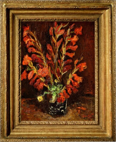 View 2. Thumbnail of Lot 1020. Vincent van Gogh 文森・梵高 | Nature Morte: Vase Aux Glaïeuls 靜物:花瓶與菖蘭.