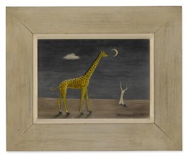 View 2. Thumbnail of Lot 1. Giraffe.