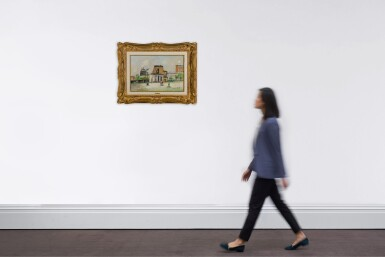 View 4. Thumbnail of Lot 82. Tour du Philosophe et Moulin de la Galette, Montmartre.