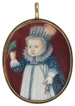 CONTINENTAL SCHOOL | PORTRAIT OF A CHILD HOLDING A PARROT