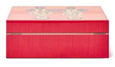 View 3. Thumbnail of Lot 2. Zeng Fanzhi 曾梵志 x Elie Bleu I Pink Sycamore Humidor 粉紅色懸鈴木雪茄盒.