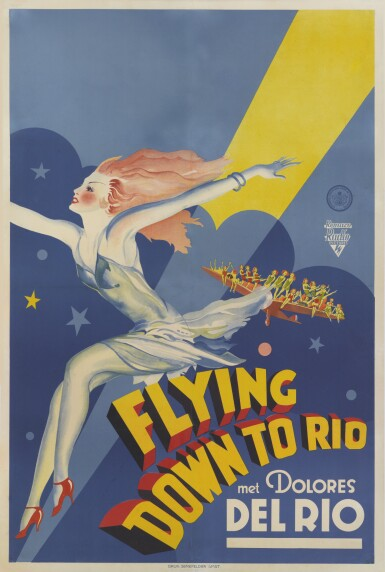Flying Down to Rio (1933) poster, Dutch