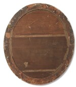 A PAIR OF GEORGE III GILTWOOD OVAL PIER MIRRORS, LAST QUARTER 18TH CENTURY