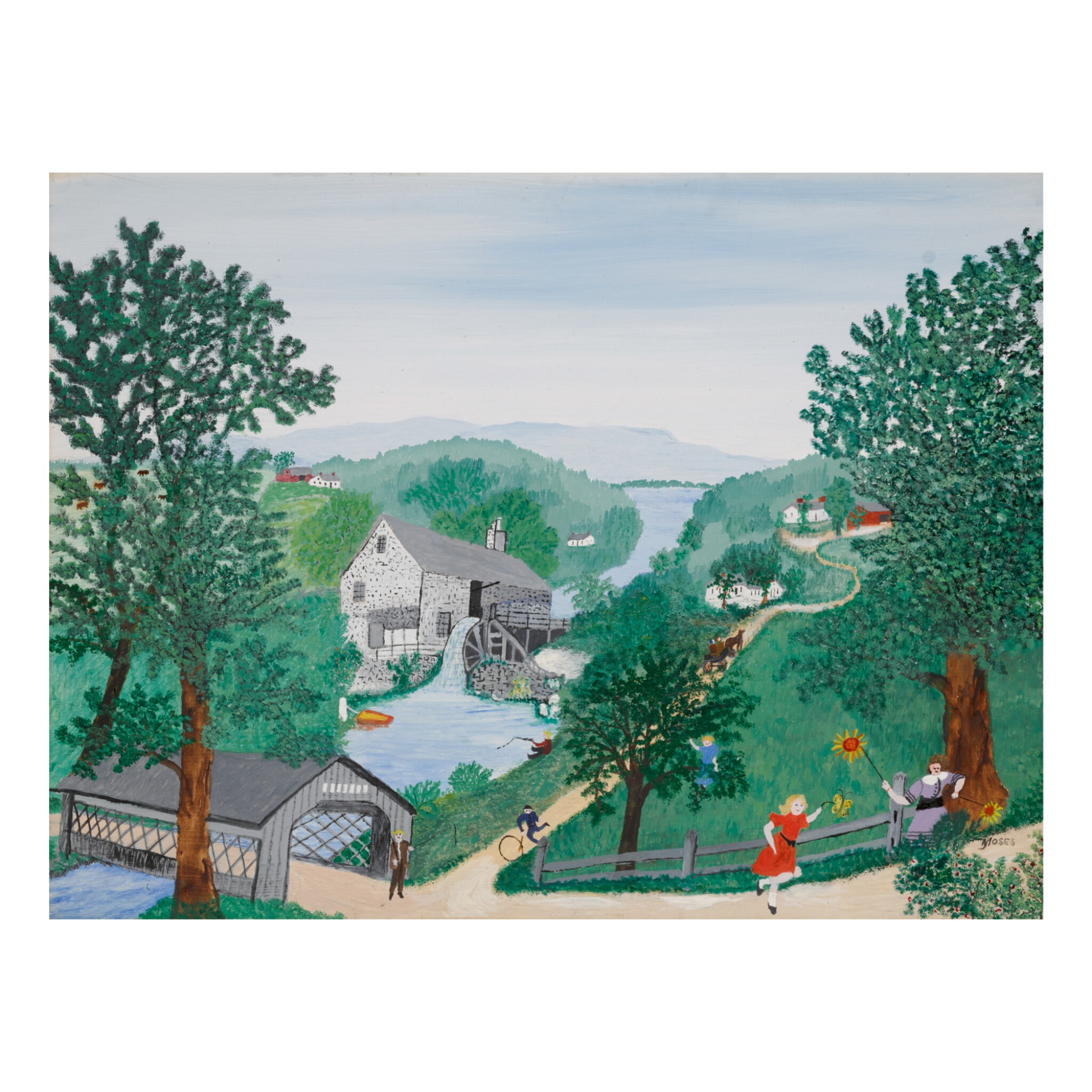 View 1 of Lot 67.  ANNA MARY ROBERTSON (GRANDMA) MOSES   THE OAKS.