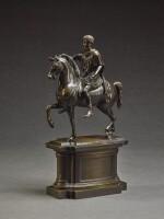 WILHELM HOPFGARTEN (1779-1860), ITALIAN, ROME, MID-19TH CENTURY, AFTER THE ANTIQUE | EQUESTRIAN MONUMENT OF MARCUS AURELIUS