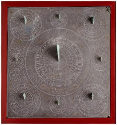 View 1. Thumbnail of Lot 5. Richard Neville, 19th century | Multi-Gnomon Sundial.