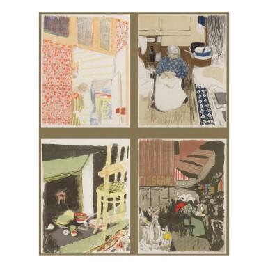 View 1. Thumbnail of Lot 91. Paysages et Intérieurs (Roger-Marx 31-43).