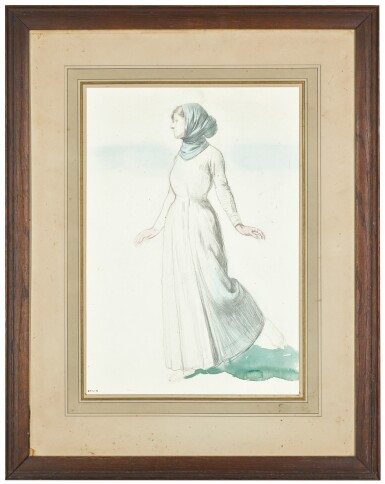 SIR WILLIAM ORPEN, R.W.S., N.E.A.C., R.A., R.H.A. | STUDY OF A WOMAN