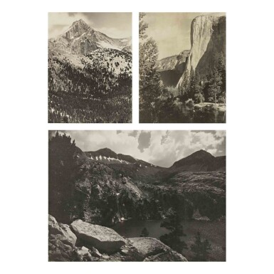 View 3. Thumbnail of Lot 91. 'Parmelian Prints of The High Sierras'.