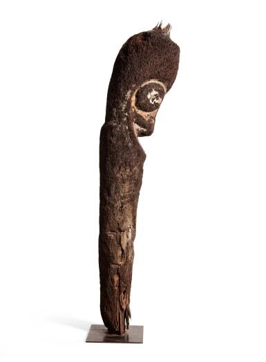 View 3. Thumbnail of Lot 67. Statue de grade en fougère arborescente, Archipel du Vanuatu | Tree-Fern grade-figure, Vanuatu Archipelago.