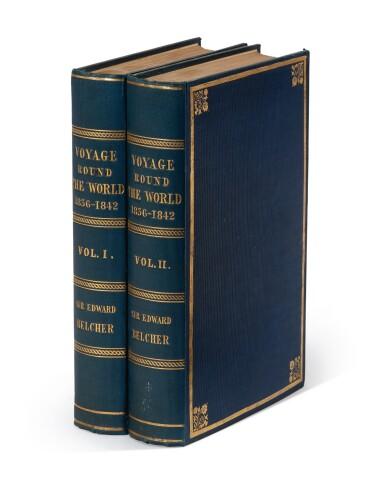 Belcher | Narrative of a voyage round the world, 1843