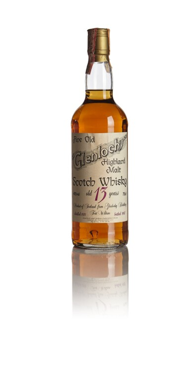 View 1. Thumbnail of Lot 367. GLENLOCHY SESTANTE 13 YEAR OLD 40.0 ABV 1974  .