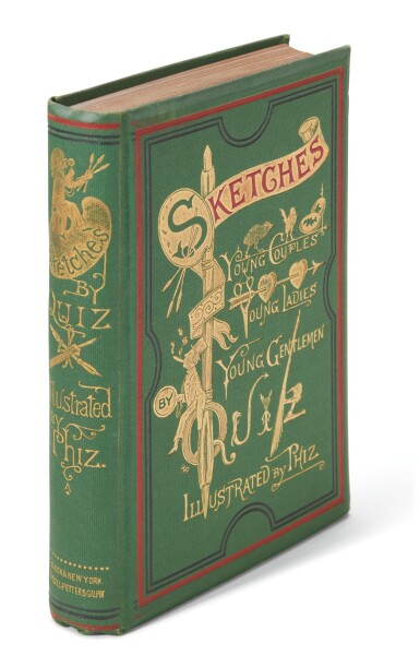 Dickens, Sketches of Young Couples, Young Ladies, Young Gentlemen, [1869], first collected edition