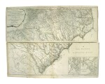 Mouzon, Henry   The most handsome map of the Carolinas ever made