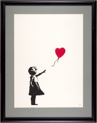 View 2. Thumbnail of Lot 19. Girl with Balloon.