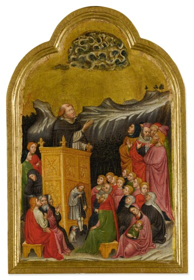 View 2. Thumbnail of Lot 508. The Sermon of St. Peter Martyr.