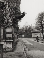 Leap into the Void (5, rue Gentil-Bernard, Fontenay-aux-Roses, October 1960) (Artistic action by Yves Klein - Collaboration with Harry Shunk and János Kender)
