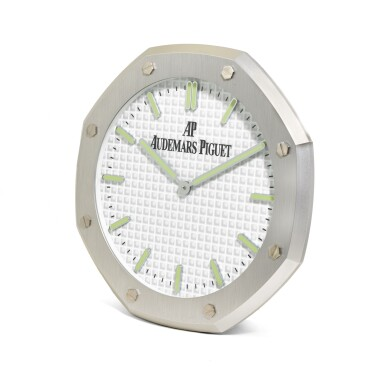 View 2. Thumbnail of Lot 1207. AUDEMARS PIGUET | ROYAL OAK, METAL WORK WALL CLOCK CIRCA 2015.