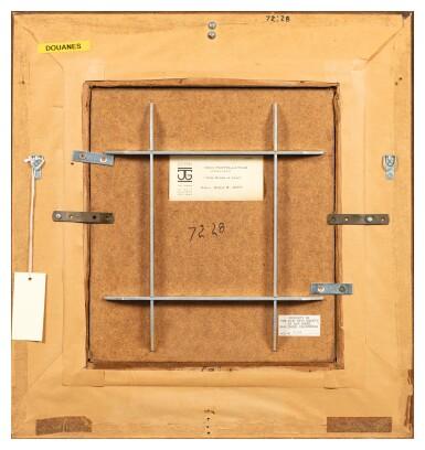View 3. Thumbnail of Lot 17. HENRI FANTIN-LATOUR | ROSES DANS UN VASE EN PORCELAINE BLANCHE.