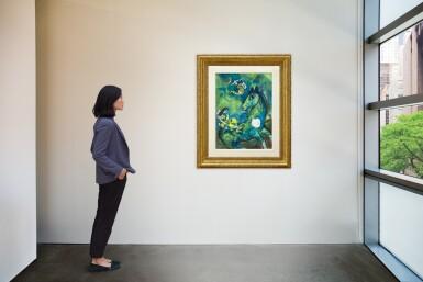 View 5. Thumbnail of Lot 1028. Marc Chagall 馬克・夏加爾   Le cheval à la lune 駿馬奔月.