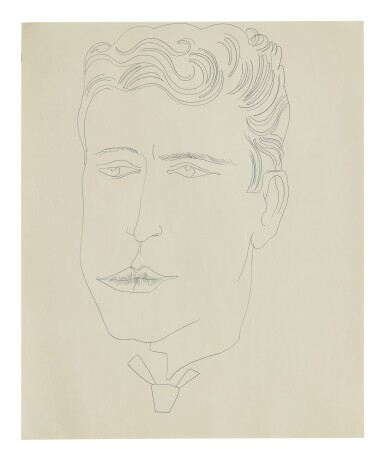 ANDY WARHOL | UNTITLED (MALE FIGURE)