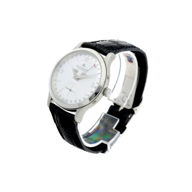 View 2. Thumbnail of Lot 242. REFERENCE 140.640.872 MASTER CONTROL A PLATINUM AUTOMATIC TRIPLE CALENDAR WRISTWATCH, CIRCA 1996.
