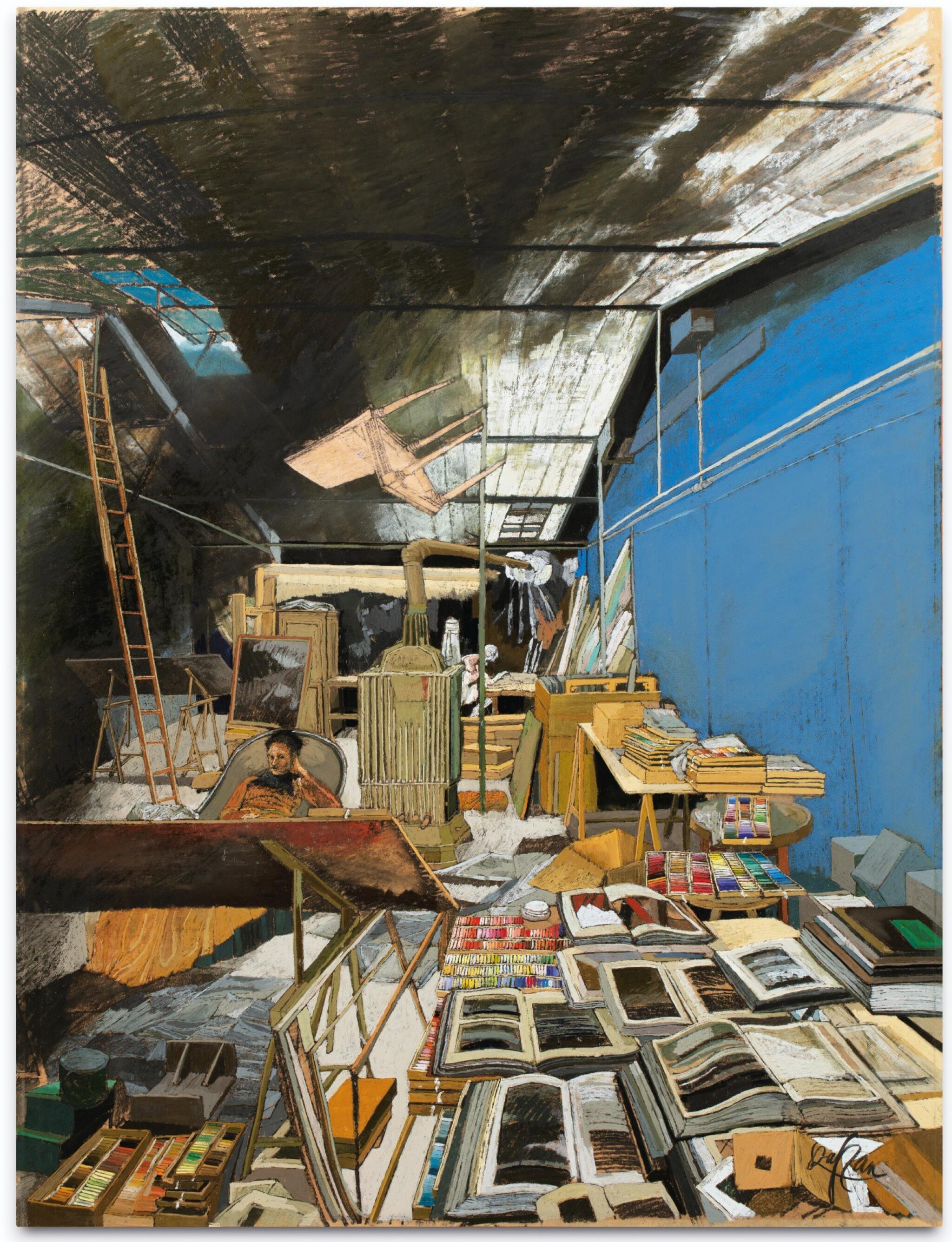 View full screen - View 1 of Lot 13. Atelier de la rue de Crussol               .