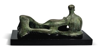 View 1. Thumbnail of Lot 66. HENRY MOORE | RECLINING FIGURE.