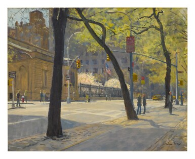 JULIAN BARROW | THE FRICK FROM FIFTH AND 71ST STREET